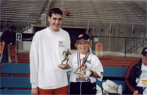 Brenton Floyd and Virginia both were first place winners in Jacksonville marathon 2002