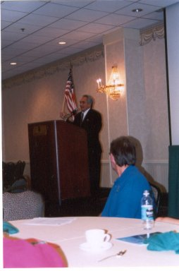 Jose Nebrida, Speaking at the Des Moines Marathon on 10/06/02