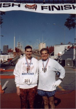 Brenton Floyd & Tom Adair at the Atlanta Marathon