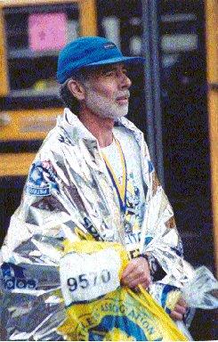 Kermit Trout Boston Marathon, 2002