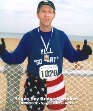 Trigon Bay Bridge Marathon, Virginia Beach, Va 10/20/2002