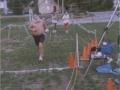 Henry, Ray Scharenbrock & Brenton Floyd at New Hampshire Marathon 2002