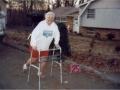 Betty Mae Burrell at 25 mile mark!!! Ha! Ha! Ha!