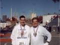 Brenton Floyd & Tom Adair at the Atlanta Marathon