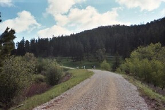 Beautiful sights at the Mickelson Trail Marathon in Deadwood 2003.