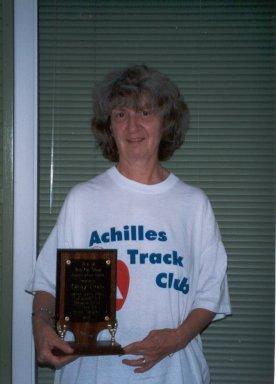 Cathi Troisi, is the 2004 Humanitarian Awarad Winner.