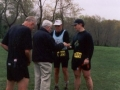 Jerry Rosen at the finish of Triple Crown.