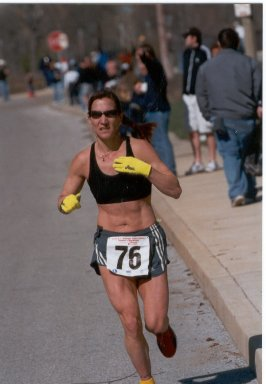 Wendy Hall at the 2004 Women's Time Trials Photo by: Clay Shaw