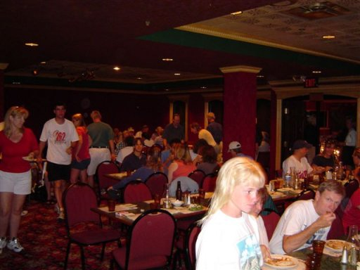 Pasta Dinner at Deadwood Marathon 2004.