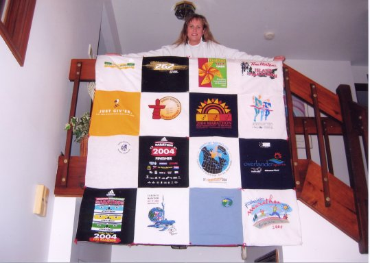 Nita Kay LeMay quilt made of 13 Canadian Provinces and Territory