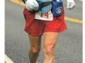 Bob Dolphin Running in the 2003 Christmas Marathon