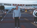 Jerry Rich at the start of the Las Vegas Marathon