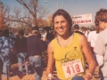 Linda Thompson, after finishing the Tulsa Marathon in 2002.