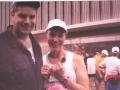Joanne Sodano, at the Flying Pig Marathon 05/05/02.