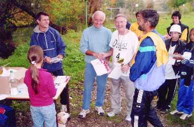 John Wallace at race registration in Bihac, Bosnia