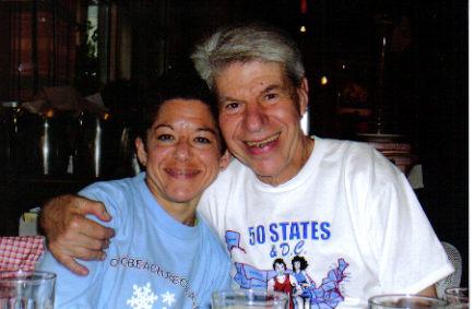 Wendy Blauman and Daniel Sinigallia in Anchorage, Alaska 06/18/06.