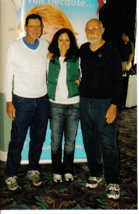 Norm Frank, Jennifer Wright-Tubbs, and Don McNelly at the Rochester, NY Marathon Expo 09/16/06.