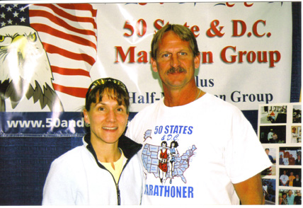 Wendy Terris & Jerry Schaver at the Des Monies expo 10/14/06.