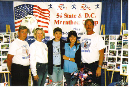 Jim & Kathi Patton, Patti and son Arron Catalano Dillion, & Jerry Schaver at the Des Monies expo 10/14/06.