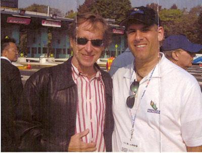 Larry Herman & Boston Billy Roger at the ING NYC Marathon 2005