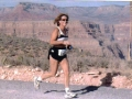 Gwen Payne enjoying the Grand Canyon Marathon 10/20/02.