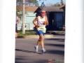 Rick Karampatsos running the Mardi Gras Marathon 02/05/06.