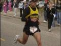 Chuck Engel running the Pensacola Marathon on 02/19/06.