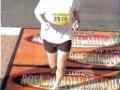 Terry Pescosolido running the Rock 'N' Roll Marathon in Arizona 01/09/05.