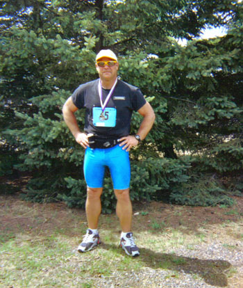 Mike Heier @ the Journeys Marathon in Eagle River, WI in 2003.