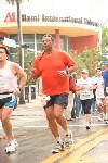 Ric Babcock running the Miami Marathon on 01/28/07
