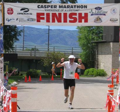 John Moralez Casper Marathon June 3, 2007