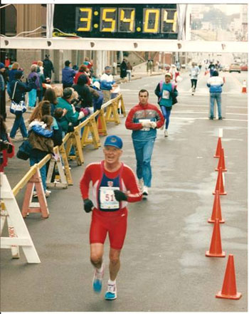 Dave Vent Completing the 50 & DC tour at the ?First Tennessee Memphis? on December 6, 1992