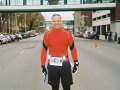 Raymond Beller at the Marshall Marathon in West Virginia in 2006. This is also the marathon where he at a 3 pound hotdog at Hillbilly Hotdogs the day before the marathon!!! That dog was delicious too by the way!!