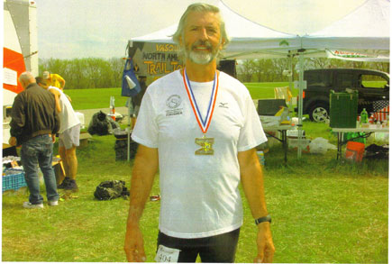 Tom Skinner ran the Free State 40 miler in Lawrence KS on April 26th. Tom Finished 1st in his age group.