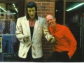 Elvis and Eddie Hahn at the Country Music Marathon in Nashville, TN on 04/26/08.