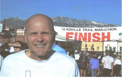 Steve Hughes at the Leadville Trail Marathon.