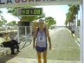 Maddog after finishing the Puerto Rico Marathon.
