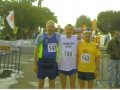 Maddog and friends from the UK at the start of the Tiberias Marathon and Maddog Country #99.
