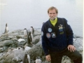 A picture for of John Bozung/RD from the 1997 Antarctica Marathon Trip.