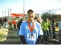 Jeff Ward after finishing the Rocket City Marathon on 12/13/08.