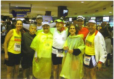 Getting ready for the Fargo, ND Marathon on 05/21/10.