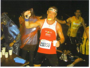 Peter Maier at the Penang Marathon in Malaysia in 2010.