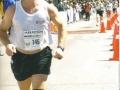 Thomas Roehlk running the Des Deux Rives Marathon Levis/Quebes in 2003