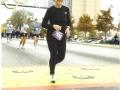 Donna Waddell running the Atlanta Marathon in 2003