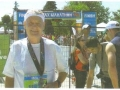 Maddog after the Colfax Marathon in Denver.