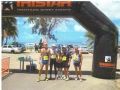 A photo of maddog and fellow members of the Country Club at the finish line. The inaugural St Kitts Marathon in Basseterre, St Kitts (Caribbean) on May 12. The course was hilly and tough and the weather was brutally HOT and I was out on the course for a P